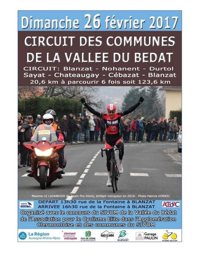 Circuit de la vallée du Bédat  (les engagés)
