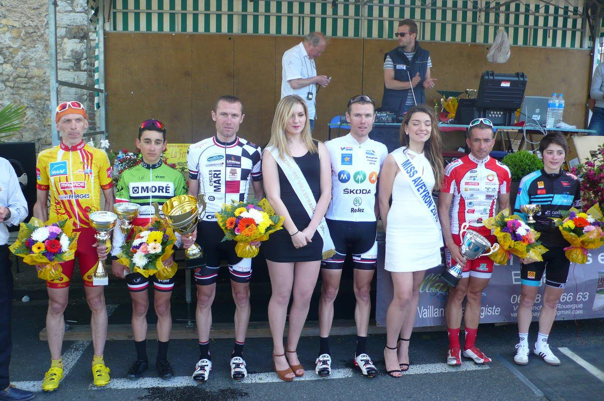 Le podium 2016  (Photo Audrey Isserte)