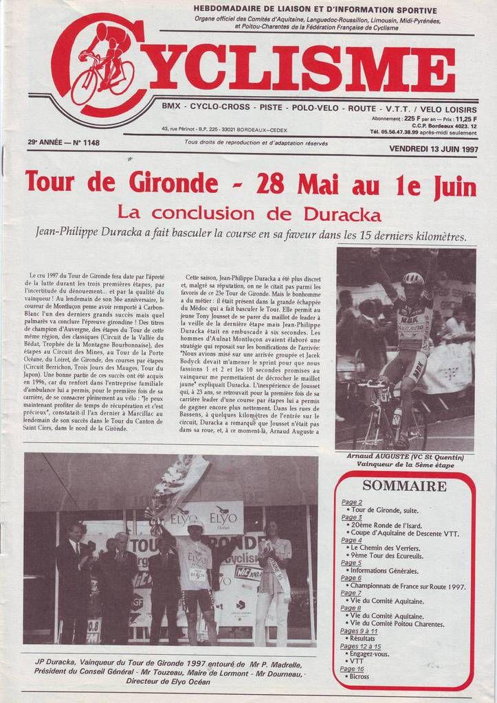 Tour de Gironde 1997