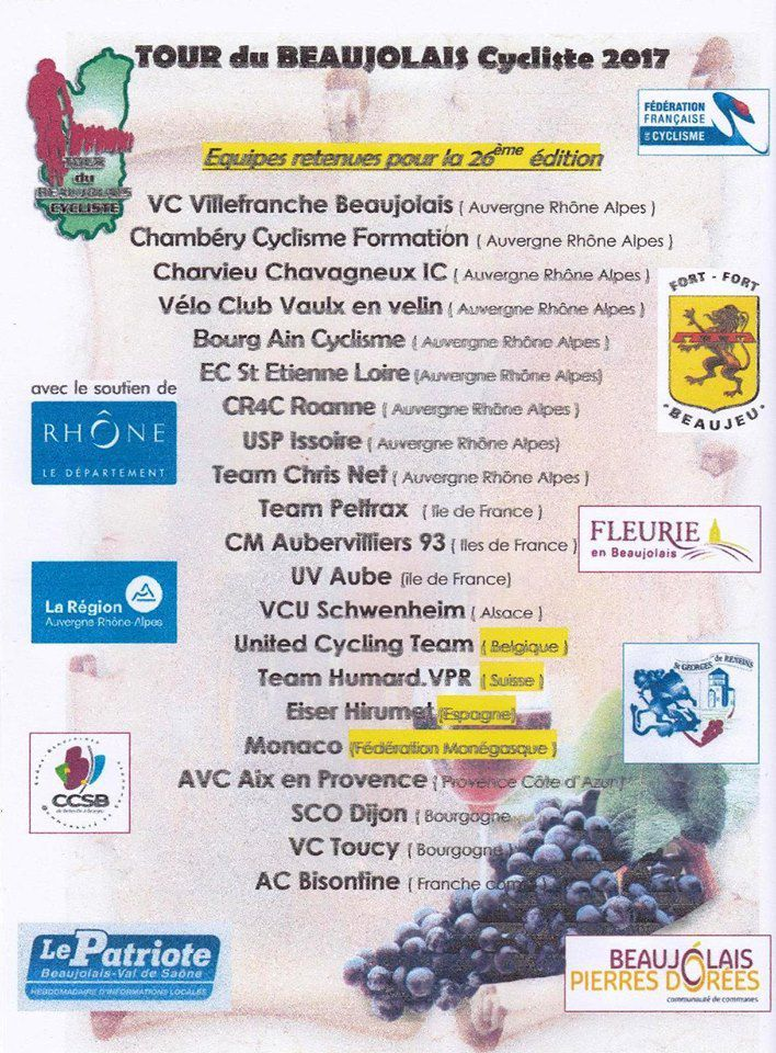 Ce week-end, Tour du Beaujolais