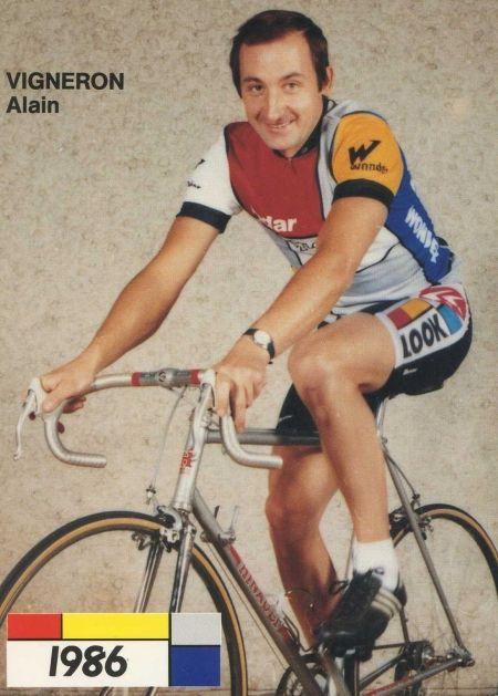 Alain Vigneron, vainqueur à Villé en 1978