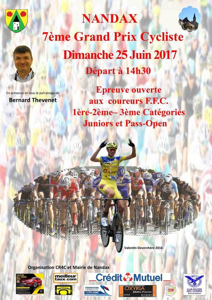 Dimanche, Grand Prix de Nandax