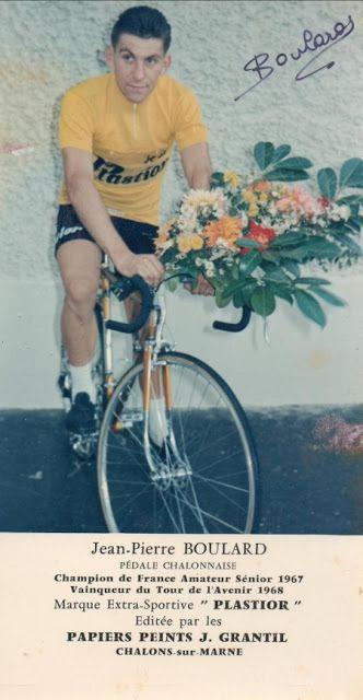 Jean-Pierre Boulard, vainqueur à Saint-Honoré-les-Bains  (Photo Cyclopassion)