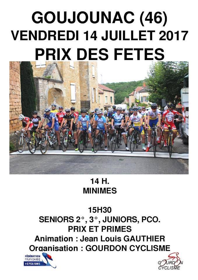Vendredi, Grand Prix de Goujounac