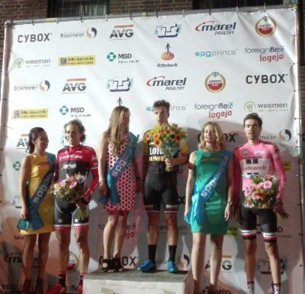 Le podium  (Photo Daags na de Tour)