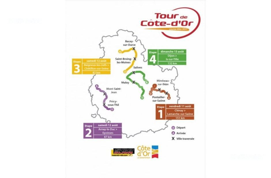 Ce week-end, Tour de Côte d'Or
