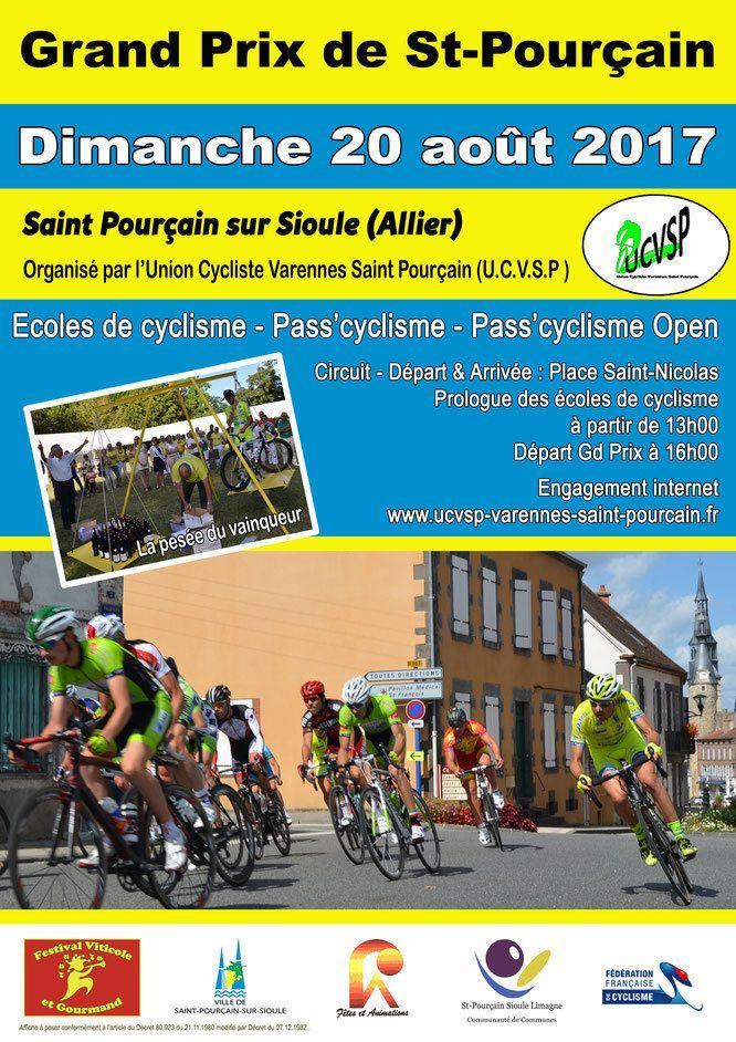 Demain, Grand Prix de Saint-Pouçain