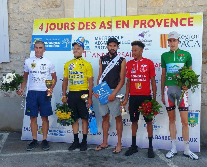 Le podium du jour  (Photo 4 Jours des As)