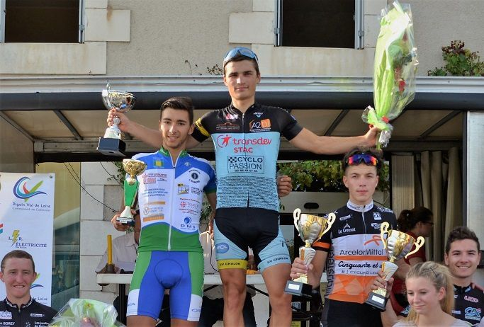 Le podium 2016  (Photo UC Digoin)