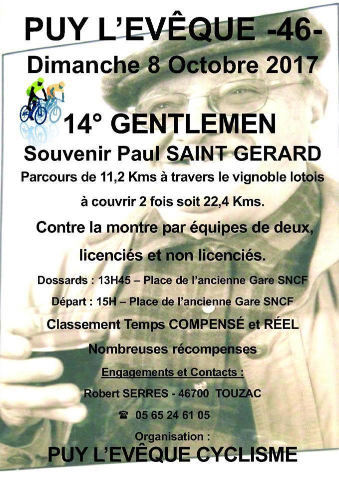 14ème Gentlemen de Puy-l'Evêque, le 8 octobre