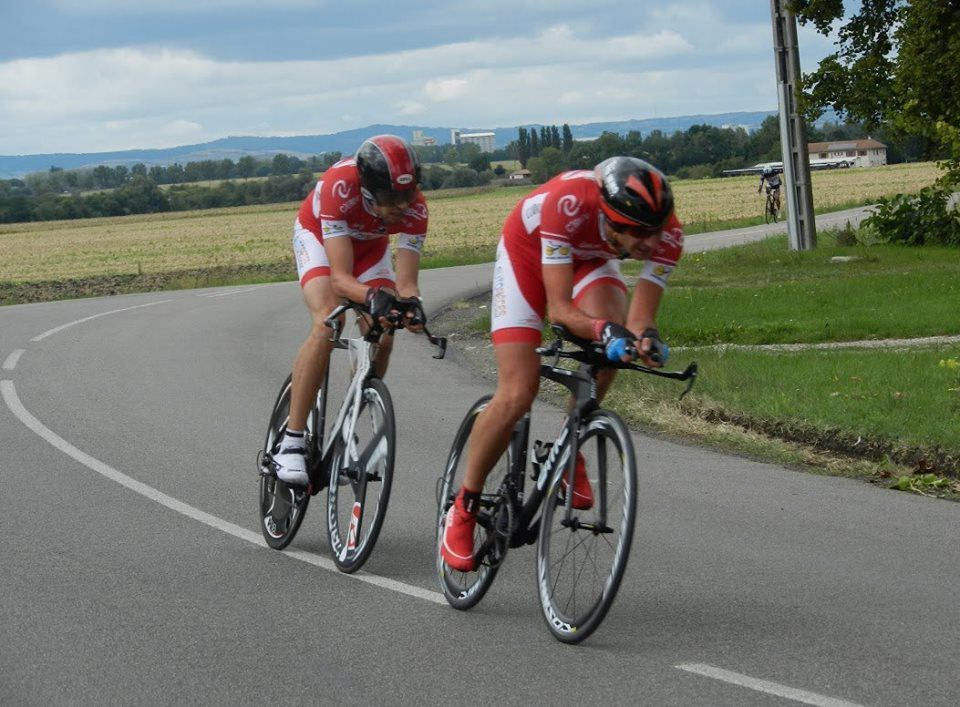Anthony Voldoire et Xavier Hodasava ont du peps !  (Photo VCCA)