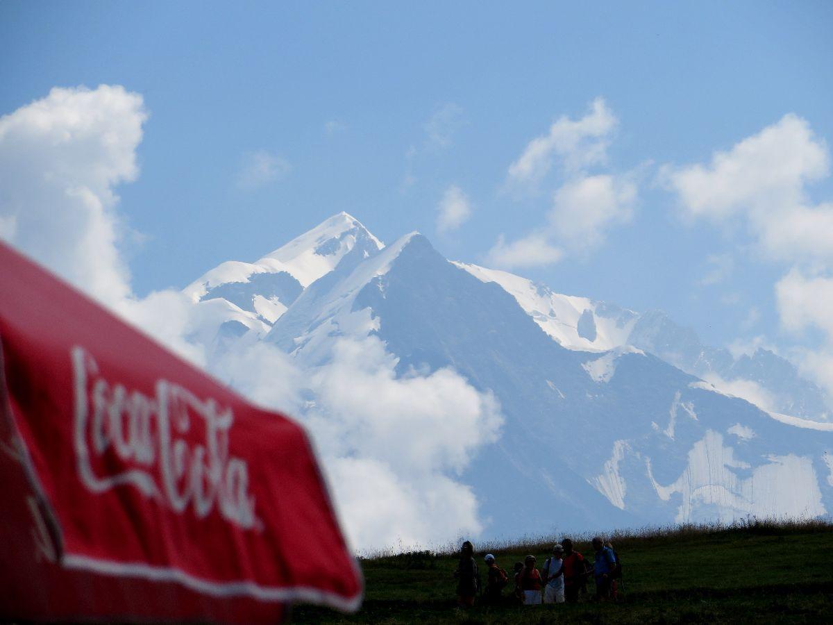 Un petit coup d'oeil sur le Mont-Blanc, il est toujours là !
