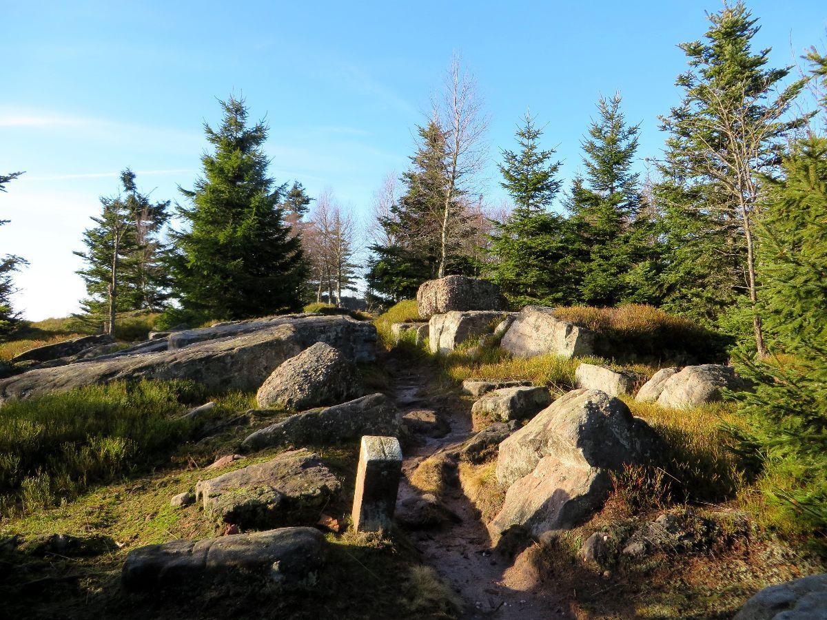 Au sommet du Rocher de Mutzig
