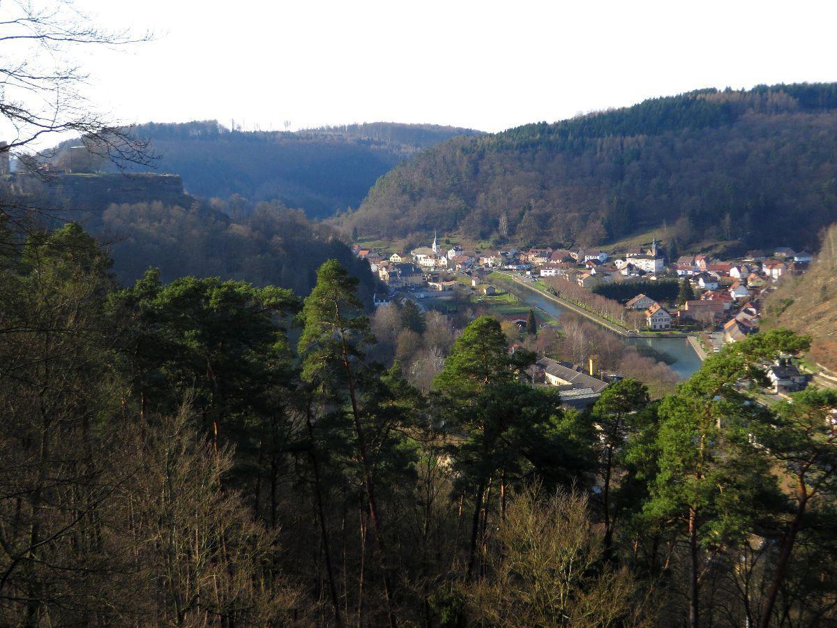 Belle vue sur Lutzelbourg