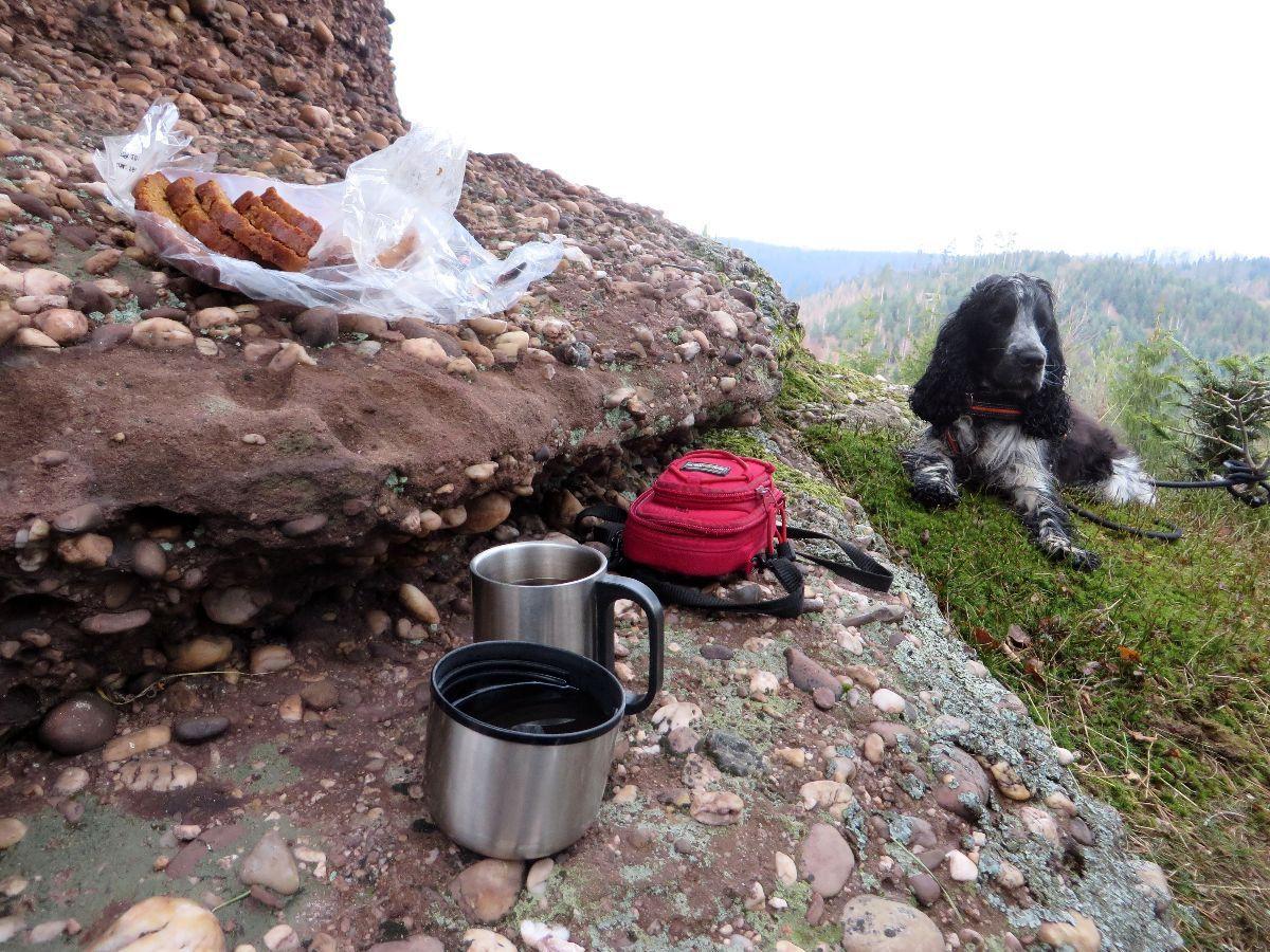 Pause café à la Tête du Calice