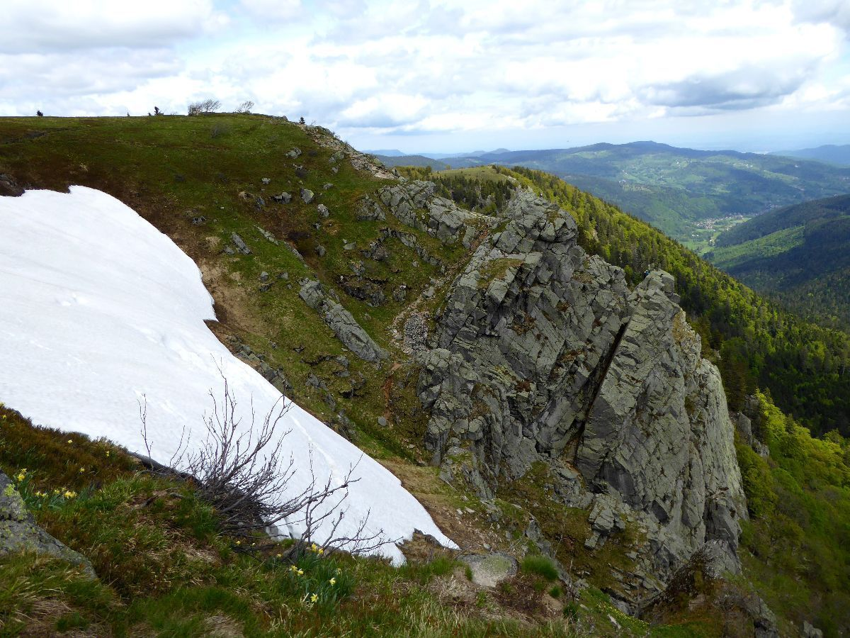 Les rochers de la Martinswand