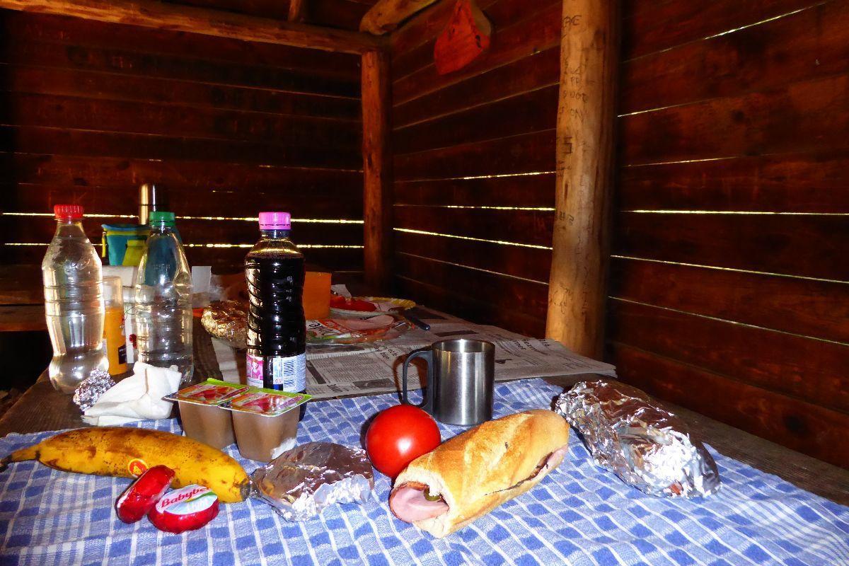 salle à manger du jour