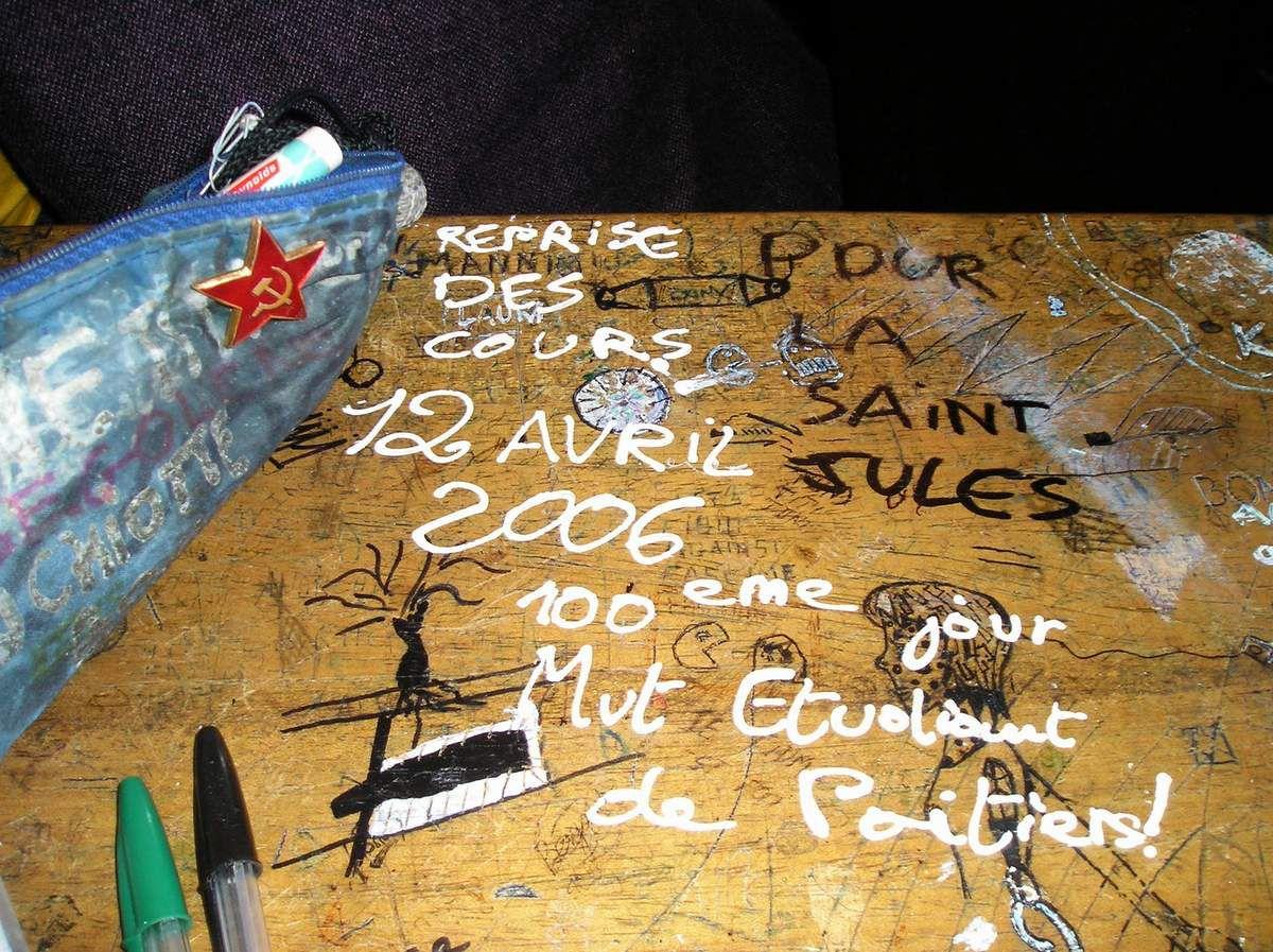 12 Avril 2006 : fin du blocus du CPE.