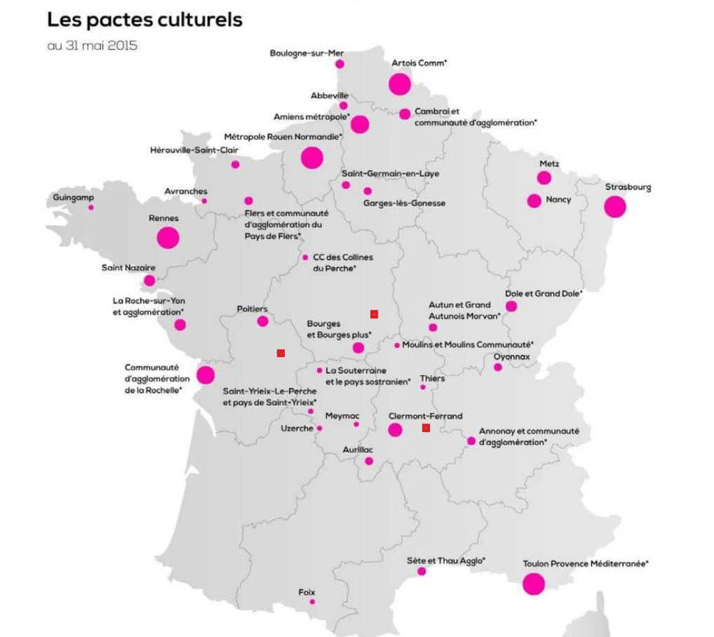 La carte de France que j'ai légèrement rectifié.