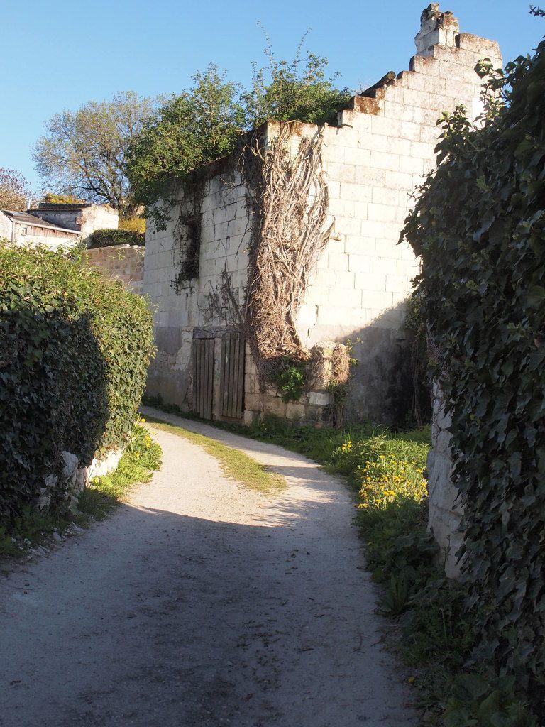 Sur la partie haute de la commune, une ruine.