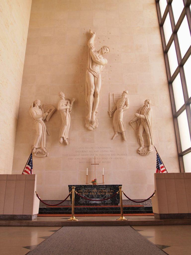 Le cimetière américain de Saint-Avold (57) : partie I