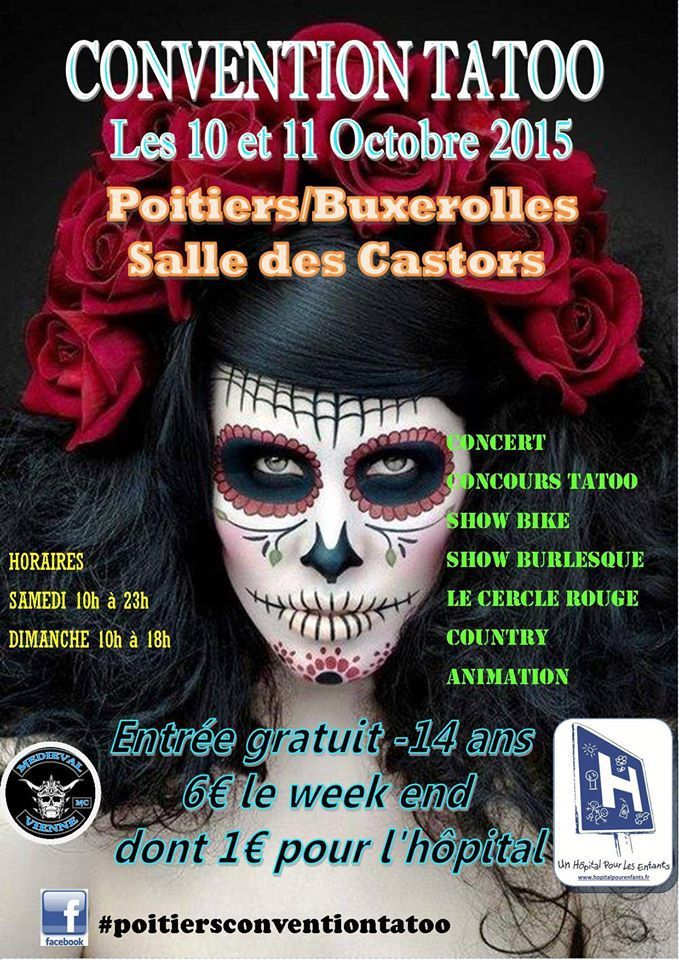 L'affiche de la Convention Tatoo 2015.