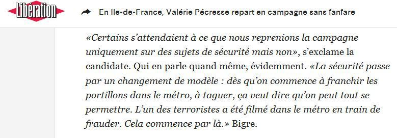 Pris sur liberation.fr, Dimanche 22 Novembre 2015.