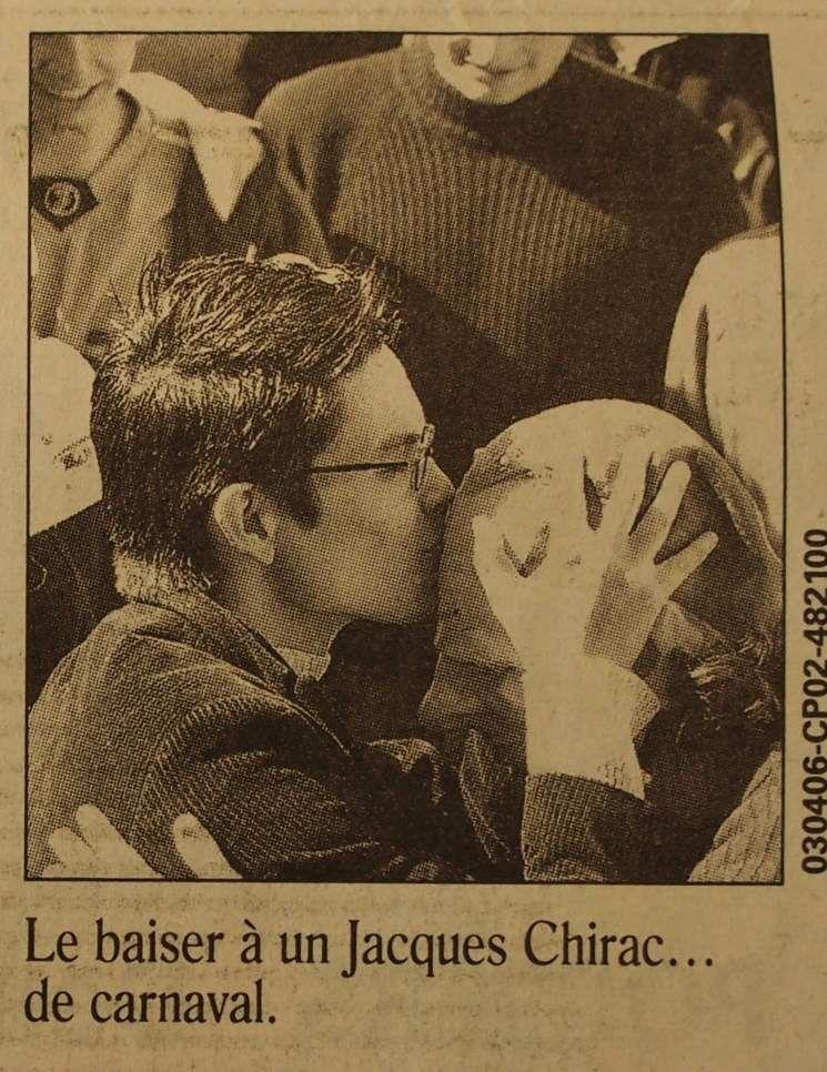 Samedi 1er Avril 2006 : les étudiants au soutien du CPE et du gouvernement Villepin