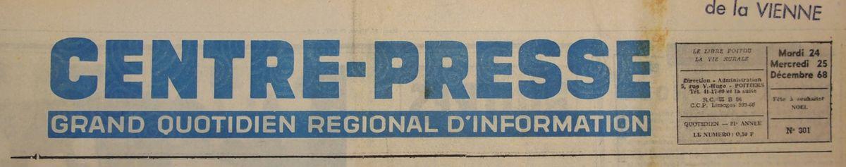 Mardi 24 Décembre 1968