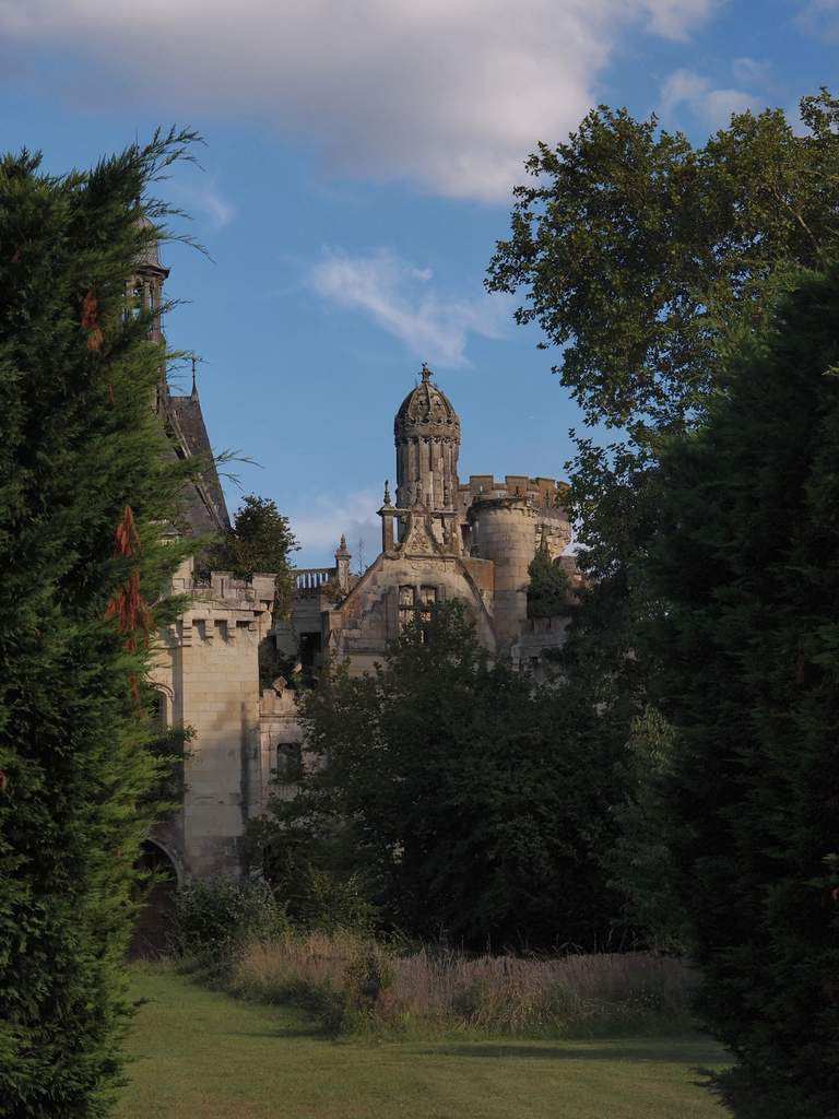 L'intrigant château en ruines de La Mothe-Chandeniers