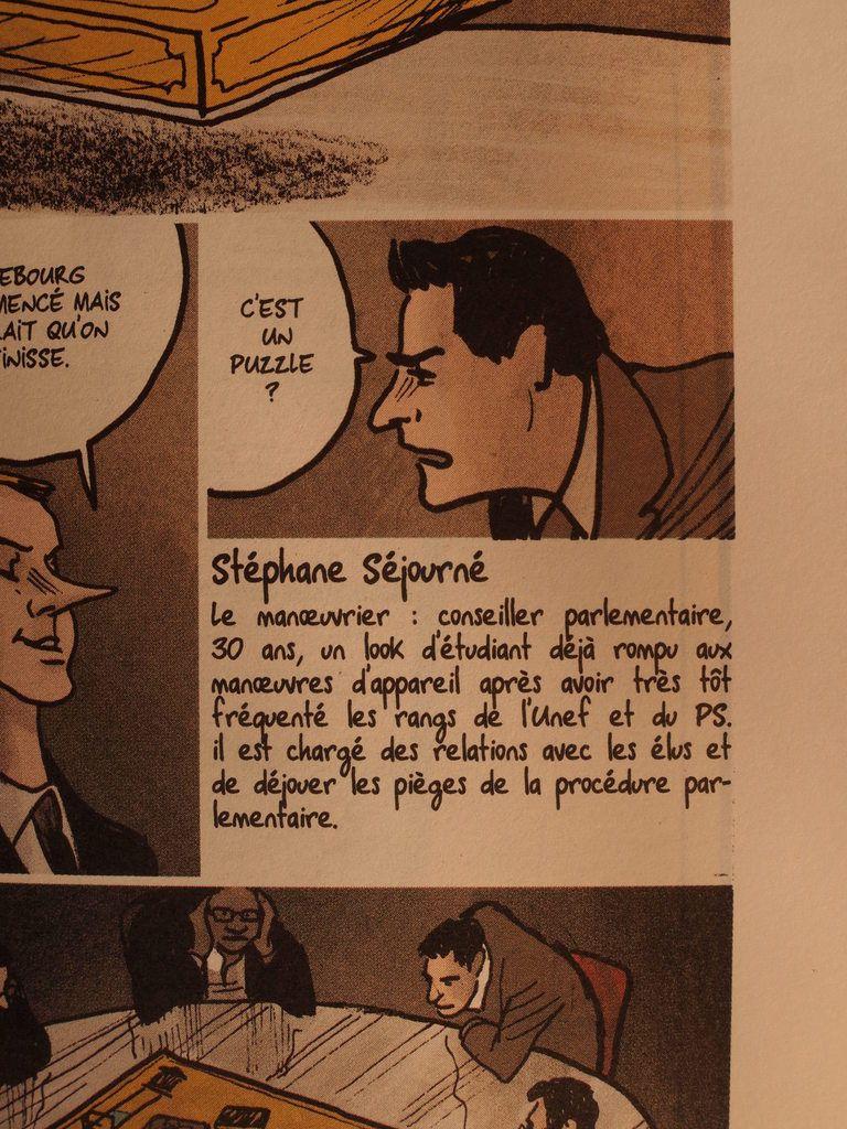 Et soudain, dans la Revue Dessinée, apparaît Stéphane Séjourné
