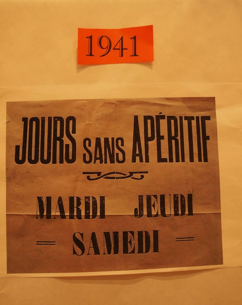 Les restrictions en France en 1941