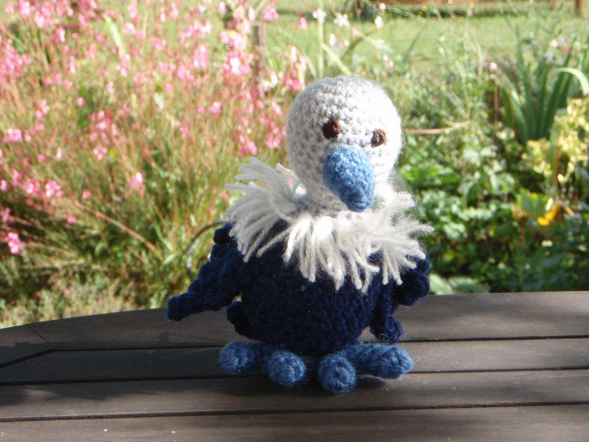 Dans la série des oiseaux, le vautour, au crochet
