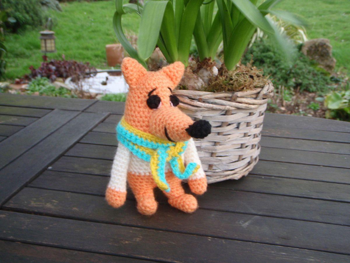 renard, Amigurumi au crochet