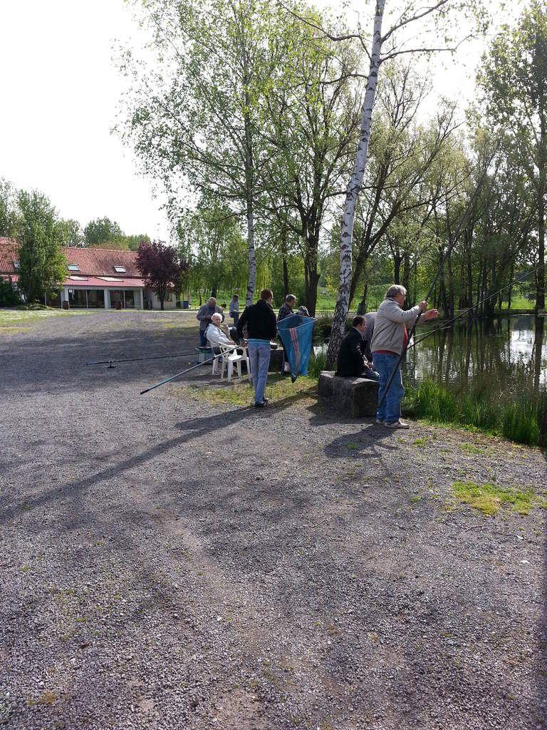 Succès pour la 5ème journée à la pêche du PCF d'Hénin-Beaumont