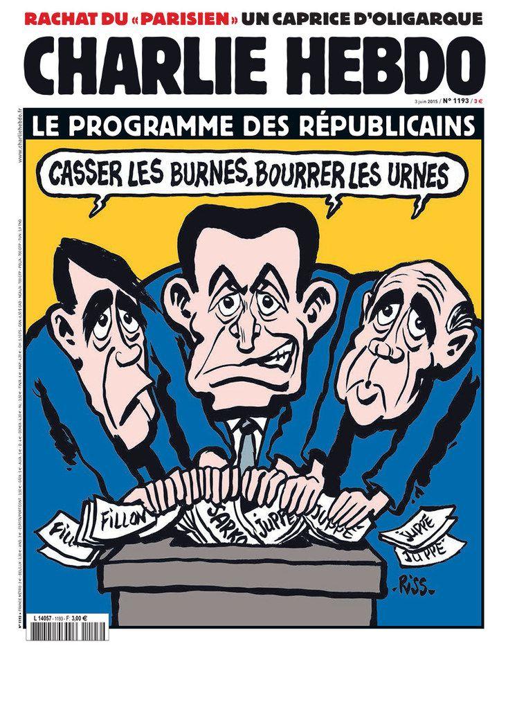 A la une de Charlie Hebdo n°1193