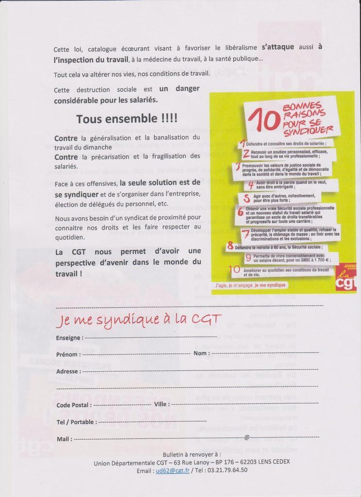 Le PCF d'Hénin-Beaumont solidaire des salariés de la grande distribution