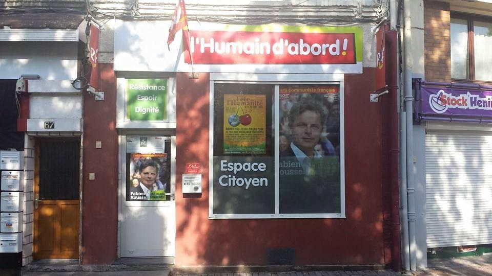 Elections régionales : l'Humain d'abord en Nord-Pas-de-Calais-Picardie avec Fabien Roussel