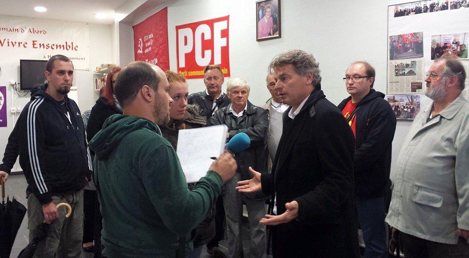 Braderie d'Hénin-Beaumont : c'était la rentrée politique pour le PCF, avec Fabien Roussel