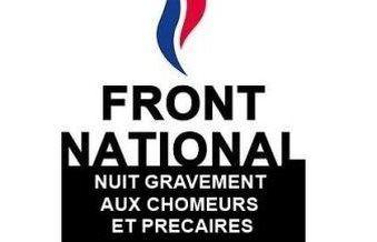 Les chômeurs répondent à Mme Le Pen : « Ce sont vos mots et vos idées qui sont un crachat au visage des chômeurs».