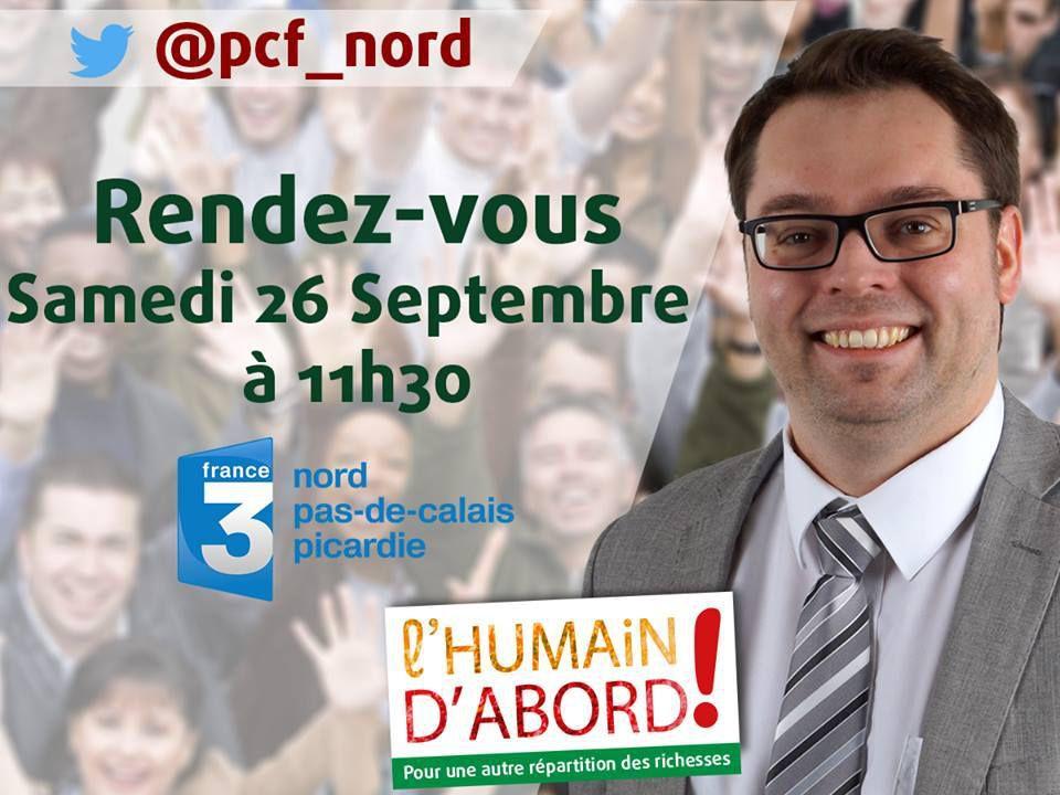Alexandre Basquin invité ce matin de La Voix est libre sur France 3