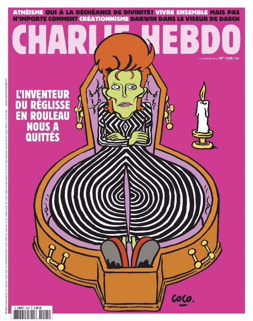 A la une de Charlie Hebdo n°1226