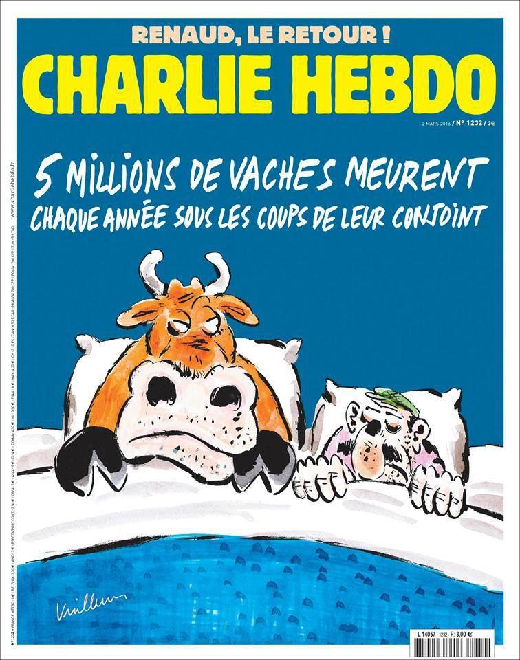 A la une de Charlie Hebdo n°1232