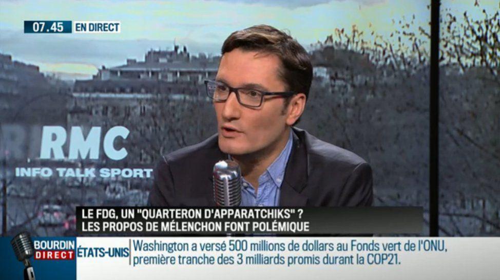 Olivier Dartigolles - RMC - 08/03/16