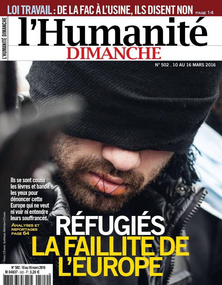 A la une de l'Humanité Dimanche (10-03-16)