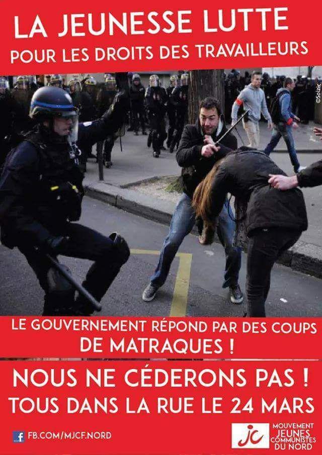 Après les manifestations du 17 mars, tous dans la rue le 24 mars !