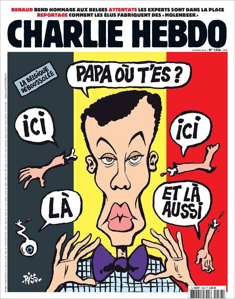 A la une de Charlie Hebdo n°1236
