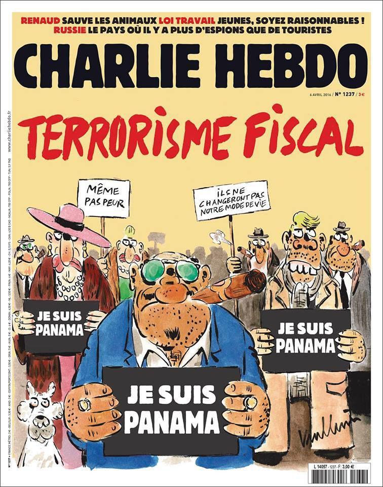 A la une de Charlie Hebdo n°1237