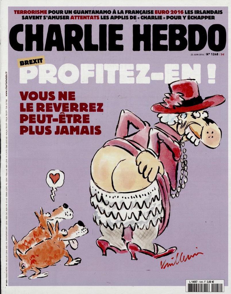 A la une de Charlie Hebdo n°1248