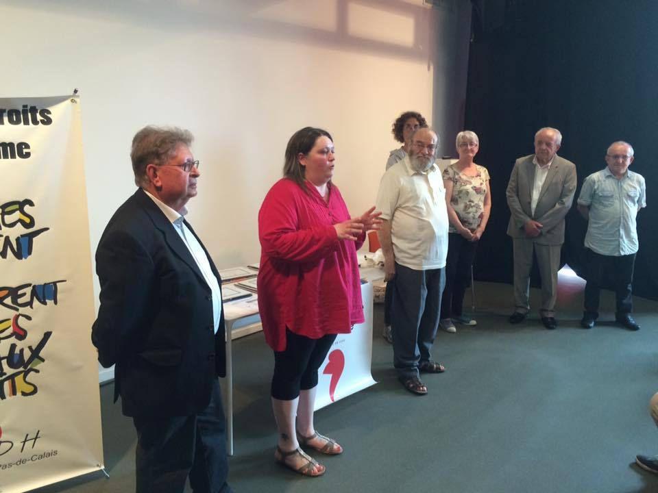 Les élèves du collège de Leforest et du lycée Senez primés au concours de poésie de la LDH